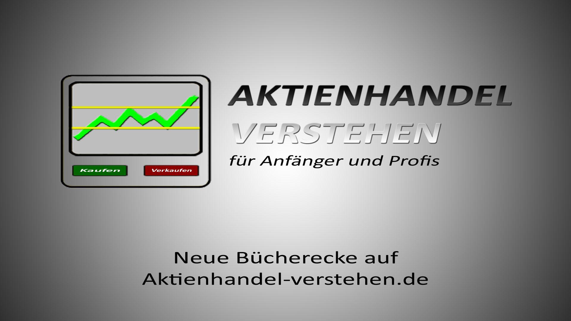 Neue Bücherecke auf Aktienhandel-verstehen.de | Aktienhandel Blog